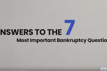 answers to bankruptcy questions