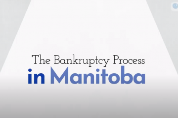 the bankruptcy process in manitoba