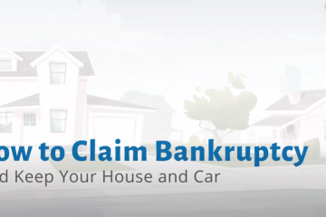 claim bankruptcy and keep your house