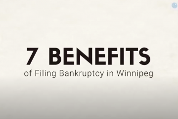 benefits of bankruptcy in Manitoba